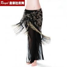 ROYAL SMEELA/皇家西米拉 肚皮舞双色刺绣臀巾- 9755