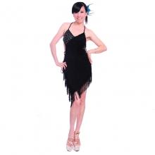 ROYAL SMEELA/皇家西米拉 流苏拉丁裙-挂脖款-7005