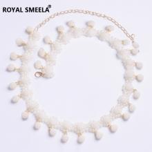 ROYAL SMEELA/皇家西米拉 肚皮舞珍珠吊坠腰链9023