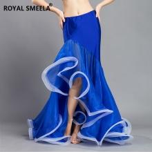 ROYAL SMEELA/皇家西米拉 鱼尾大荷叶裙-6809