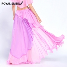 ROYAL SMEELA/皇家西米拉 雪花卷裙双色-6808