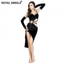 ROYAL SMEELA/皇家西米拉 斜边短裙套装-8837